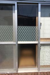 掃出し窓施工事例