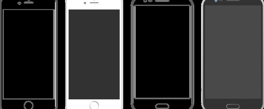 iPhoneのガラス画面